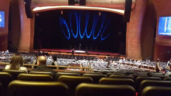 The Grand Theater at Foxwoods, section: PRt center, row: KK, seat: 120