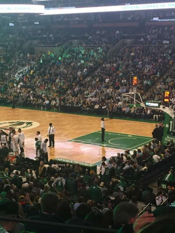 TD Garden, section: Loge 20, row: 24, seat: 1