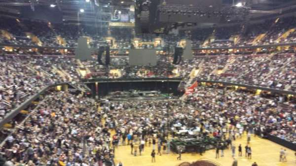Quicken Loans Arena, section: 133, row: 27, seat: 1
