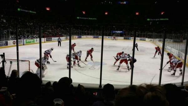 Van Andel Arena, section: 114, row: g, seat: 3