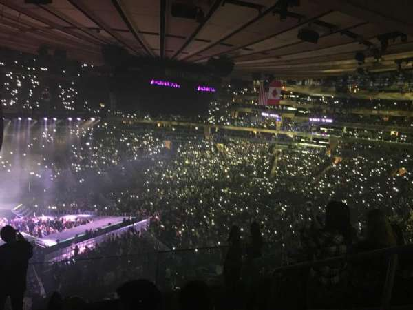 Madison Square Garden, section: 222, row: 7, seat: 11