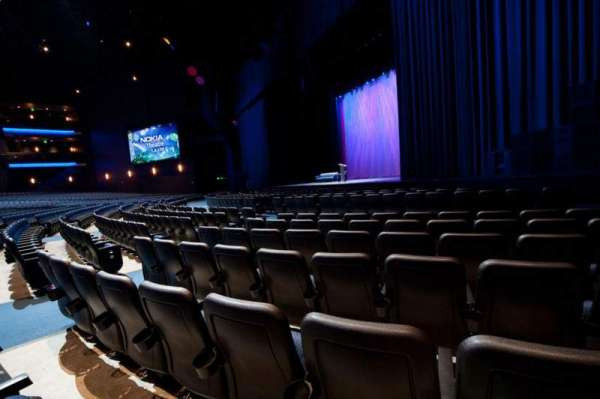 Microsoft Theater, section: Orchestra Right, row: F, seat: 114