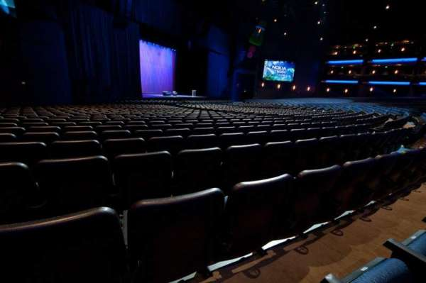 Microsoft Theater, section: Orchestra Left, row: S, seat: 512
