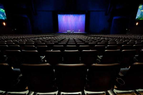 Microsoft Theater, section: Orchestra Center, row: SS, seat: 314