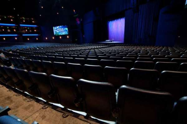 Microsoft Theater, section: Orchestra Right, row: S, seat: 112