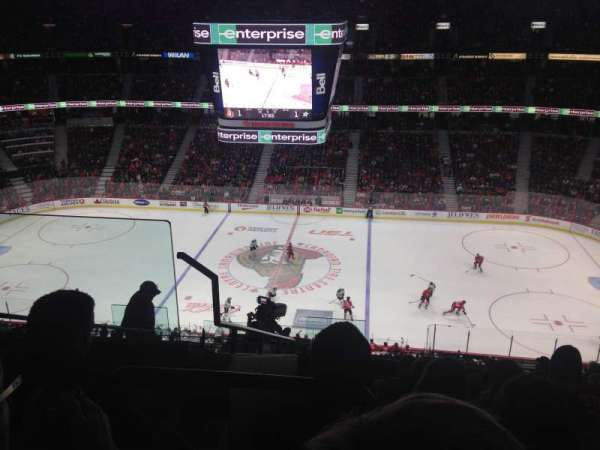Canadian Tire Centre, section: 307, row: K, seat: 18