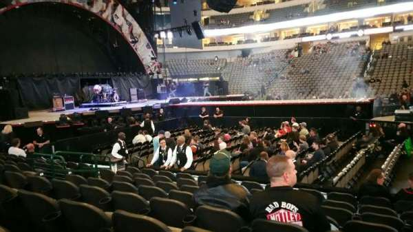 American Airlines Center, section: 119, row: H, seat: 9