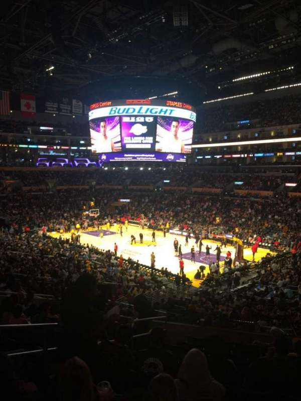 Staples Center, section: PR10, row: 11, seat: 10