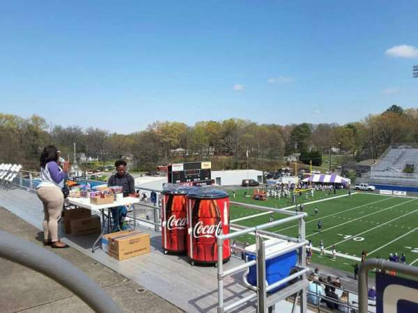 Braly Stadium, section: B, row: Handicap