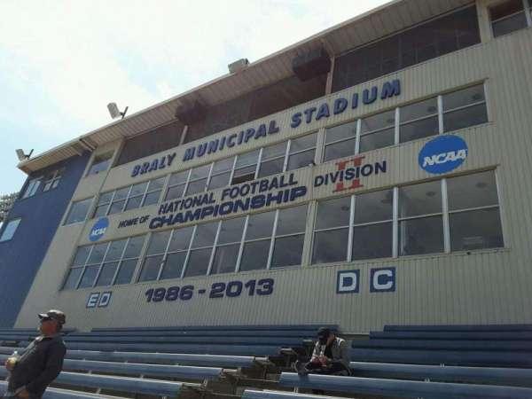 Braly Stadium, section: ED-DC