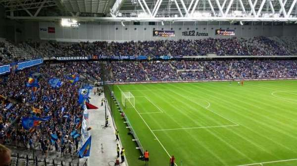Tele2 Arena, section: B322, row: 5, seat: 93