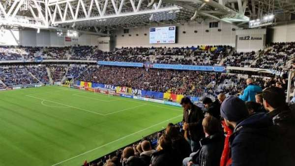Tele2 Arena, section: B307, row: 9, seat: 300