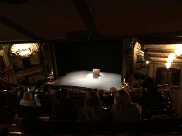 Palace Theatre (Broadway), section: Rear Mezzanine, row: O, seat: 8