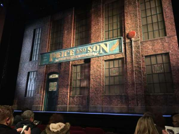 Al Hirschfeld Theatre, section: Orchestra R, row: F, seat: 4