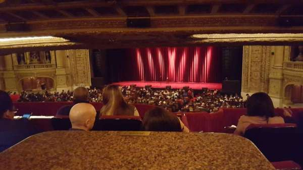 Chicago Theatre, section: Booth J, seat: 1 and 2