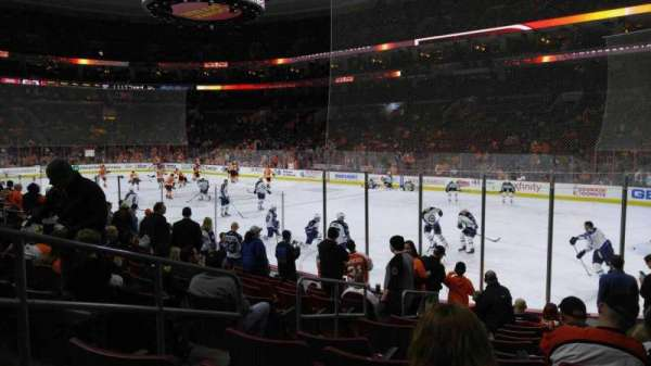 Wells Fargo Center, section: 104, row: 11, seat: 4