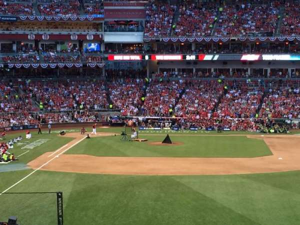 Great American Ball Park, section: 140, row: G, seat: 10