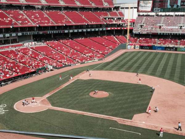 Great American Ball Park, section: 431, row: A, seat: 13