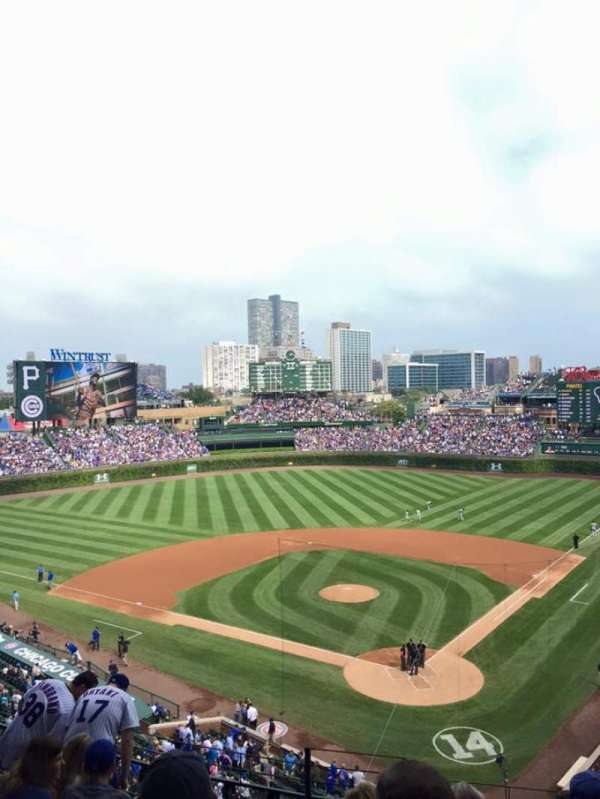 Wrigley Field, section: 316L, row: 8, seat: 1