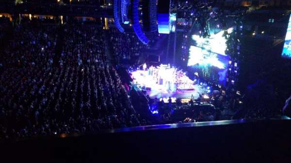 Pepsi Center, section: 258, row: 1, seat: 9