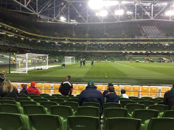 Aviva Stadium, section: 107, row: J, seat: 24