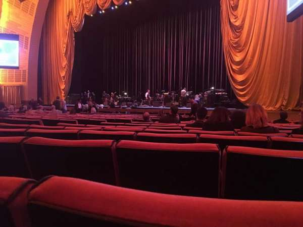 Radio City Music Hall, section: Orchestra 2, row: QQ, seat: 206