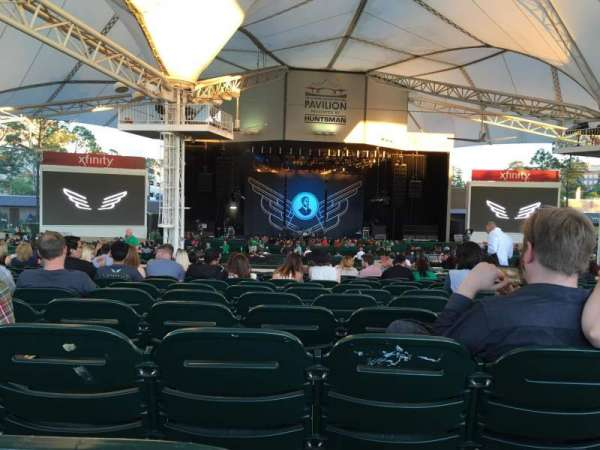 Cynthia Woods Mitchell Pavilion, section: 107, row: Q, seat: 20
