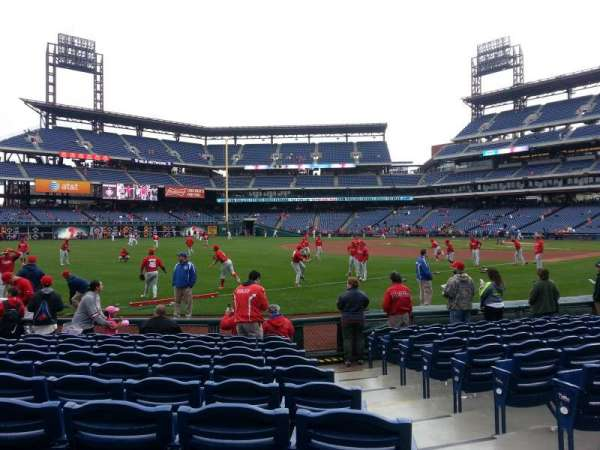 Citizens Bank Park, section: 137, row: 11, seat: 1