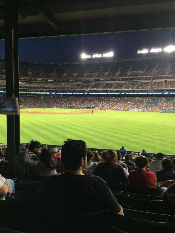 Globe Life Park in Arlington, section: 49, row: 18, seat: 10