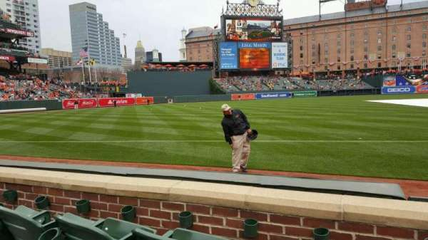 Oriole Park at Camden Yards, section: 62, row: 3, seat: 1