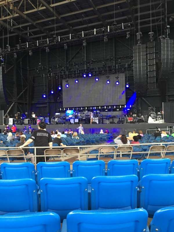 MidFlorida Credit Union Amphitheatre, section: 6, row: F, seat: 13