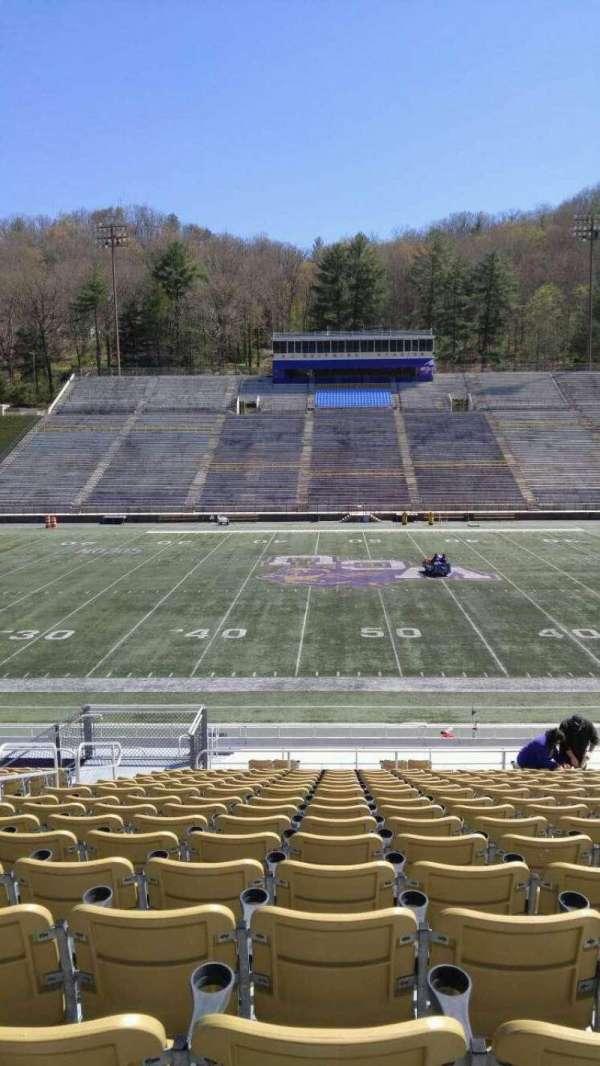 E. J. Whitmire Stadium, section: K, seat: 17