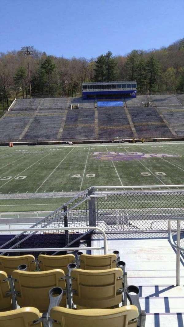E. J. Whitmire Stadium, section: L, seat: 1
