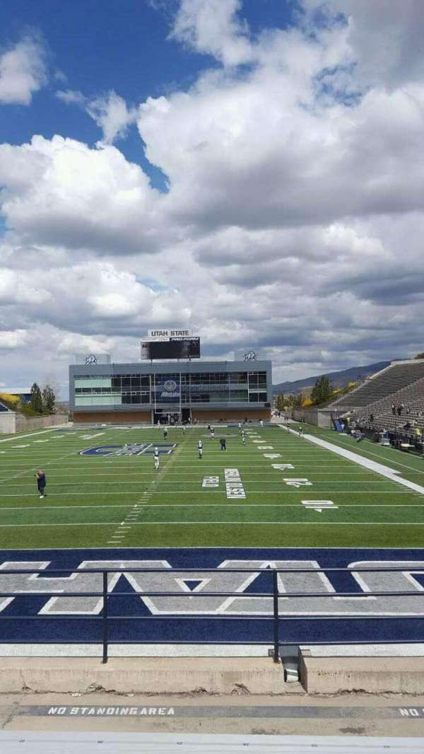 Maverik Stadium, section: e, row: 8, seat: 24