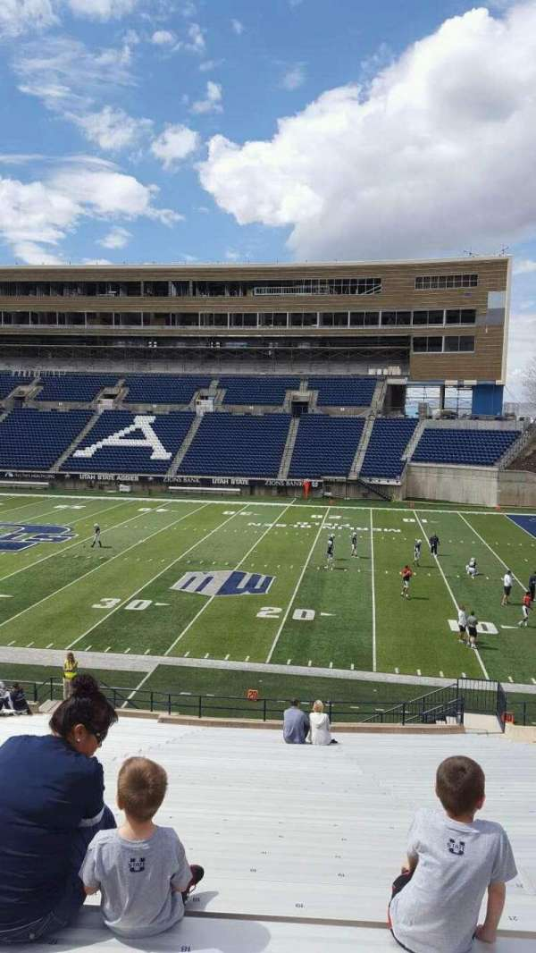 Maverik Stadium, section: 13, row: 31, seat: 20
