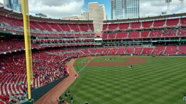 Great American Ball Park, section: 140, row: M, seat: 5