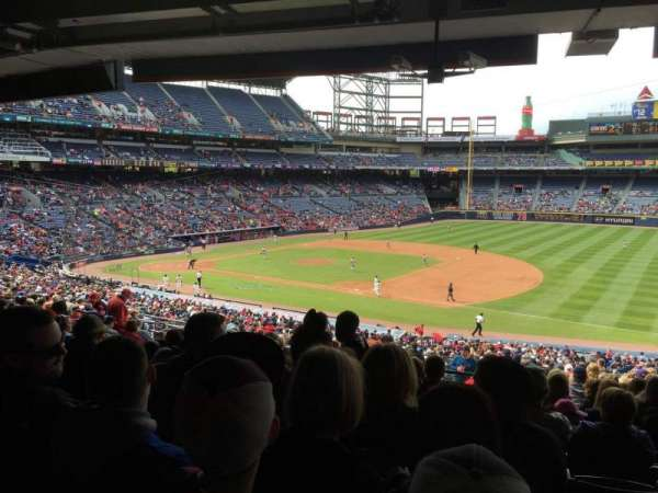 Turner Field, section: 219, row: 16, seat: 110