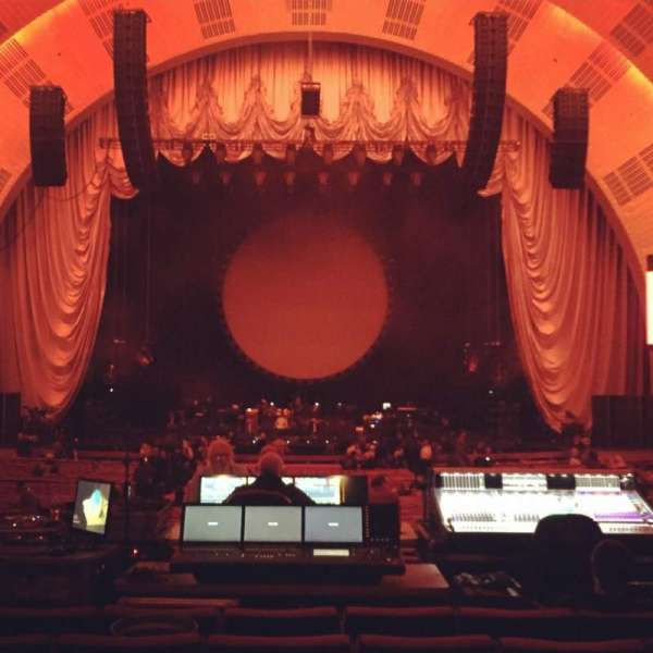 Radio City Music Hall, section: Orchestra 4, row: R, seat: 408