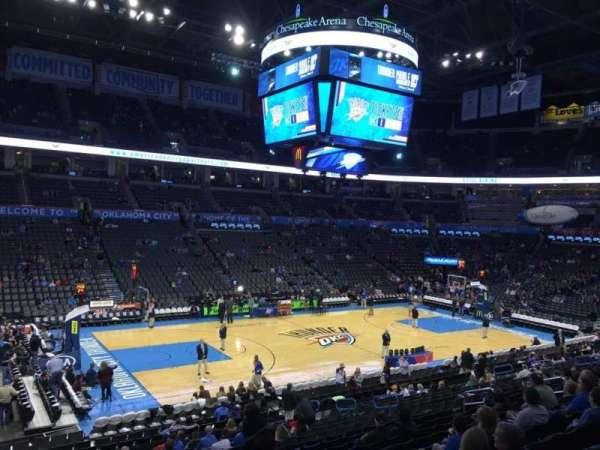 Chesapeake Energy Arena, section: 108