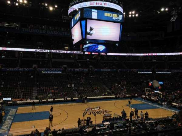 Chesapeake Energy Arena, section: 118