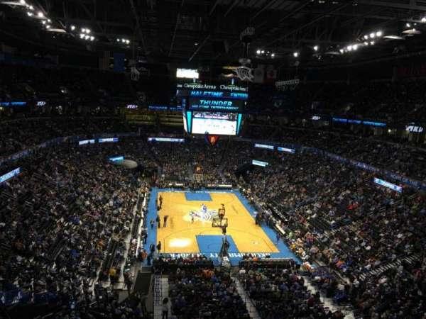 Chesapeake Energy Arena, section: 302
