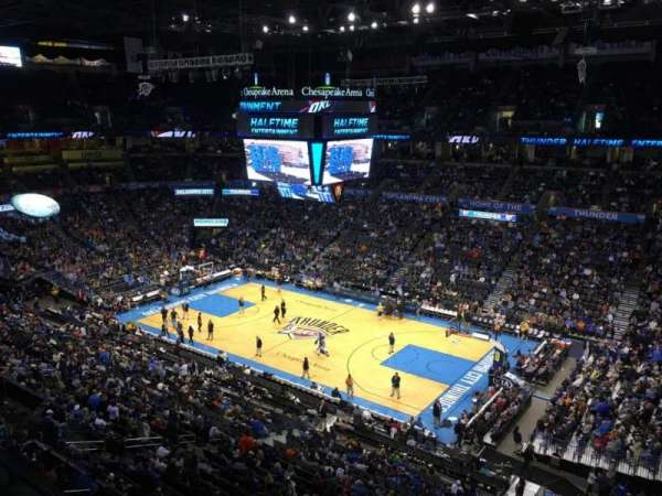 Chesapeake Energy Arena, section: 306