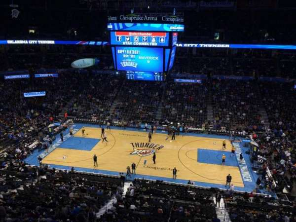 Chesapeake Energy Arena, section: 310