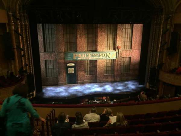 Al Hirschfeld Theatre, section: Mezzanine Center, row: H, seat: 115