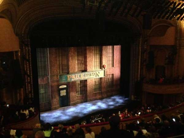 Al Hirschfeld Theatre, section: Mezzanine Left, row: K, seat: 21