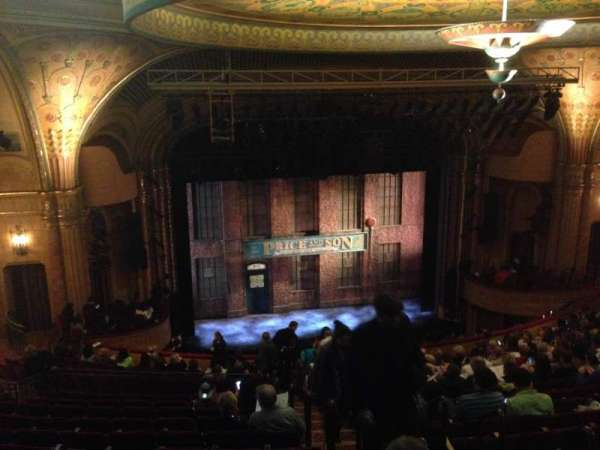 Al Hirschfeld Theatre, section: Mezzanine Left, row: S, seat: 5