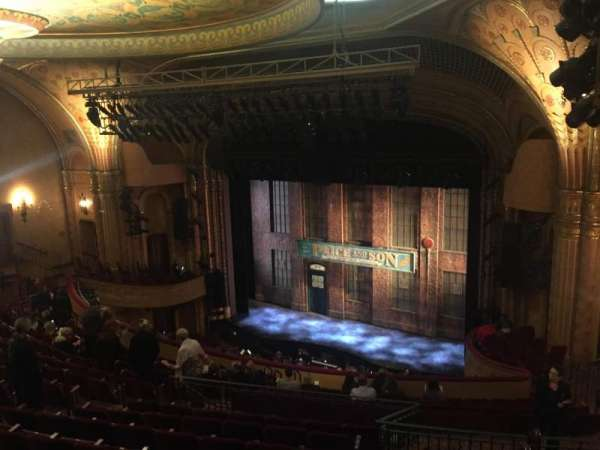 Al Hirschfeld Theatre, section: Mezzanine R, row: P, seat: 26