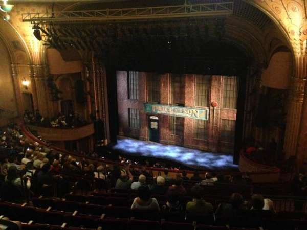 Al Hirschfeld Theatre, section: Mezzanine R, row: Q, seat: 20