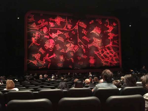 Minskoff Theatre, section: Orchestra C, row: R, seat: 106