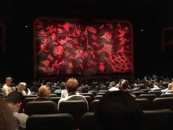 Minskoff Theatre, section: Orchestra C, row: U, seat: 109